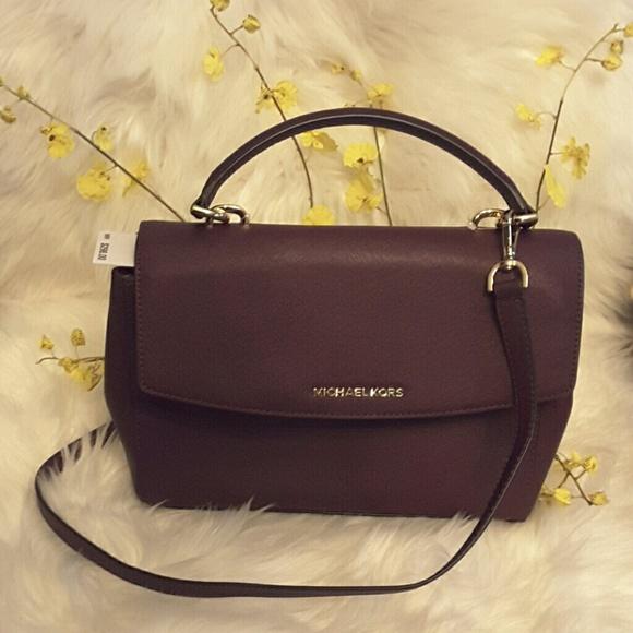 78f4d9ea888c Michael kors Bags | Ava Md Th Satchel Leather Bag | Poshmark